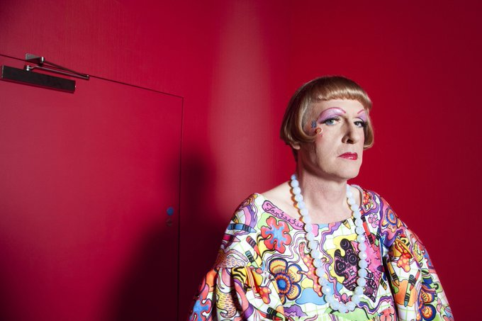 Happy Birthday to artist Grayson Perry who was born 1960 in Chelmsford.
