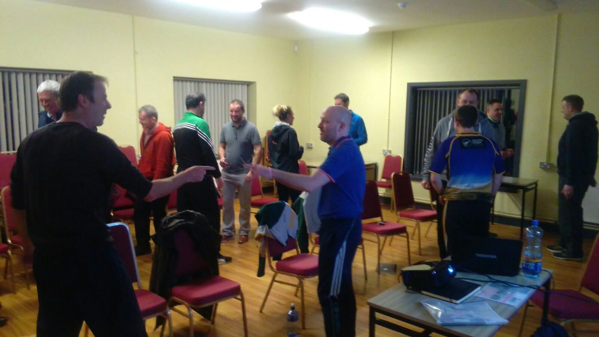 test Twitter Media - Great group of coaches at the Dual Foundation Course in Ballinamere last night with GDA Conor Clancy https://t.co/aqwV75NLg1