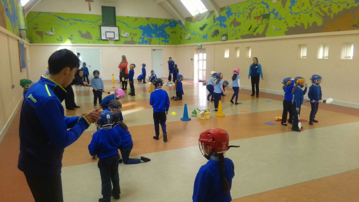 test Twitter Media - Junior & Senior infants in action with the Have a Ball programme in St. Rynaghs NS. Led by GDA Conor Clancy and TY's from Banagher College https://t.co/spghDkGm3Q