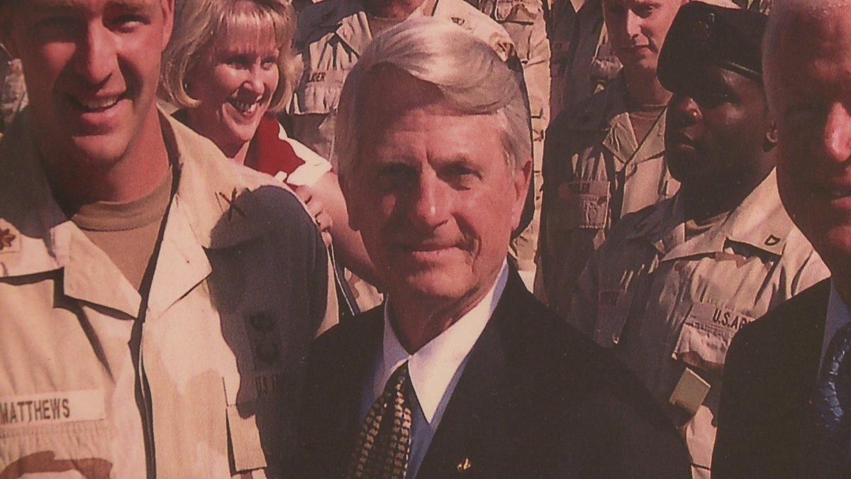 Former Georgia governor, US Se zell miller