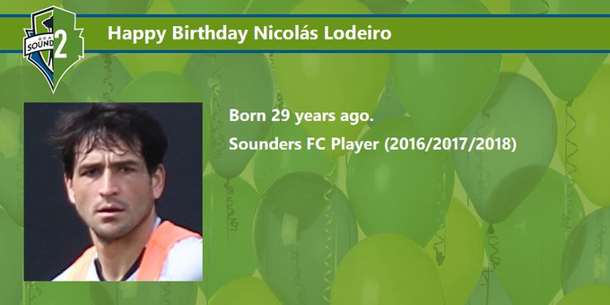 Happy Birthday Nicolás Lodeiro