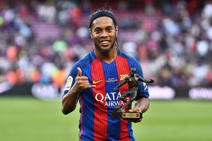 Happy Birthday to Brazilian and Barcelona legend Ronaldinho Gaúcho