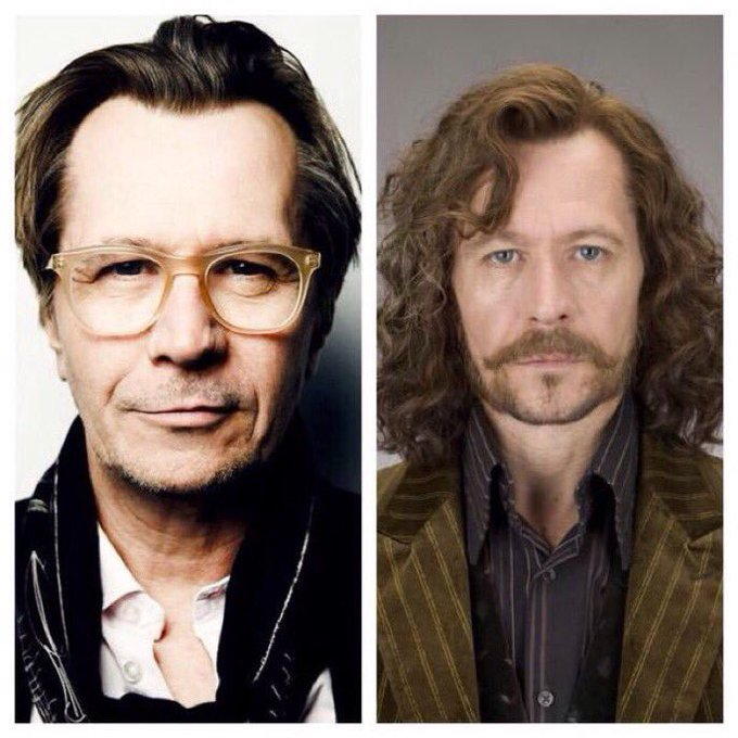 March 21: Happy Birthday, Gary Oldman! He played Sirius Black in the films.