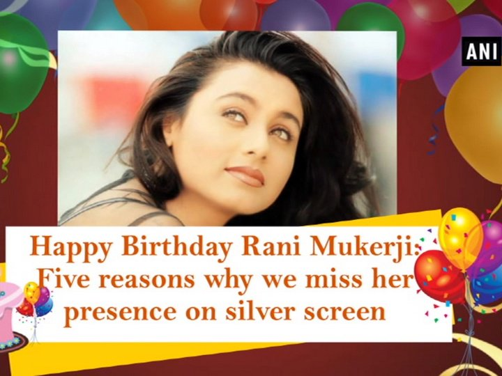 Happy Birthday Rani Mukerji: Five reasons why we miss her presence on silver screen