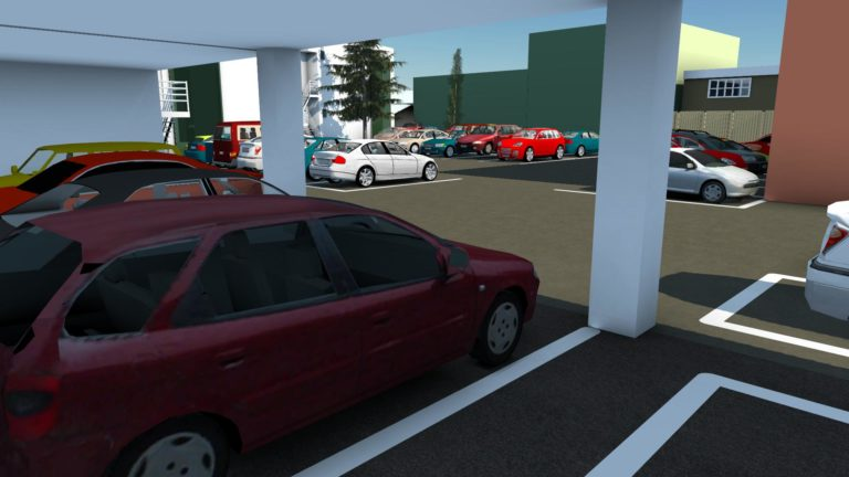 InfraWorks Gallery Project Of The Week Car Park Optimization This Shows How Can Be Used To Allow A Client Visualize Proposed