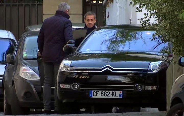 @BroadcastImagem: Sarkozy enfrenta segundo dia de interrogatório por suspeita de financiamento ilegal de campanha. AP Photo