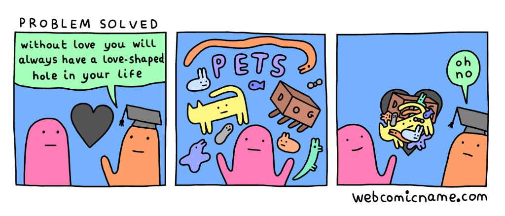 This is a positive outcome. https://t.co/Cqvx7Pzewm (by @dorrismccomics) https://t.co/2rw6tHdf8u
