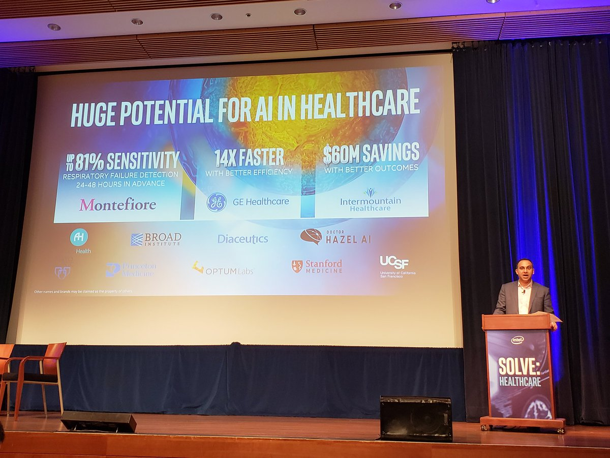 test Twitter Media - It's not futures  #ArtificialIntelligence is happening at scale in #healthcare today, sez @intel EVP Navin Shenoy. #IntelSolve @MontefioreNYC @GEHealthcare @Intermountain #DigitalHealth #IoT @IntelHealth https://t.co/56ZATvHBue