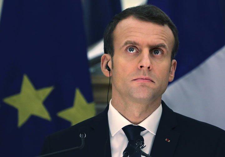 @BroadcastImagem: Presidente da Câmara dos EUA convida Macron para discurso no Capitólio em abril. Manish Swarup/AP