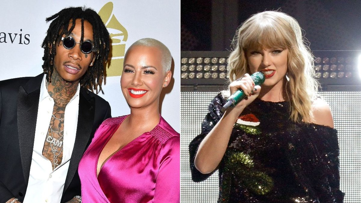 Taylor Swift Sent Wiz And Amber's Son A Present And He's Overjoyed
