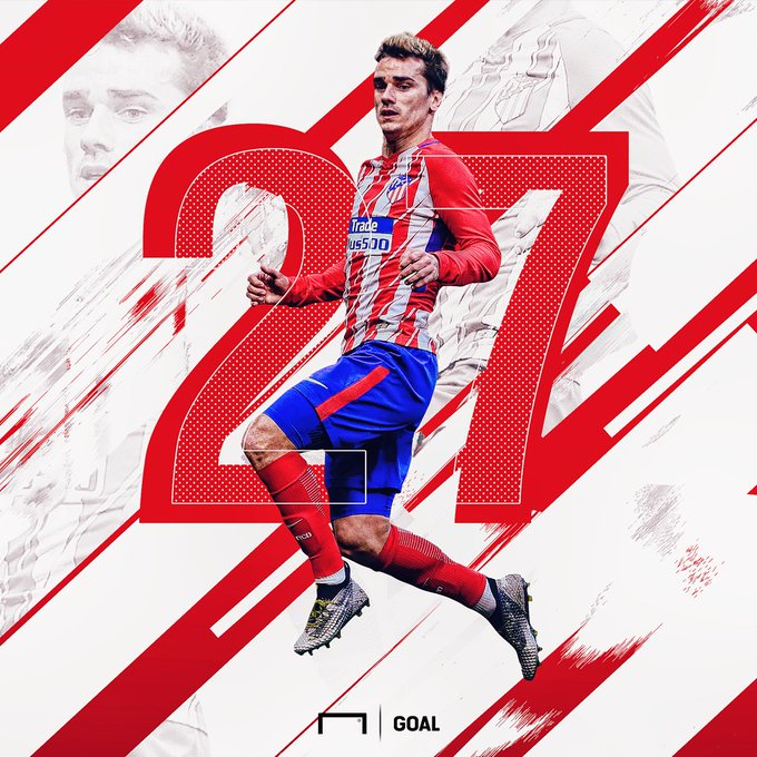 Happy Birthday to Antoine Griezmann!