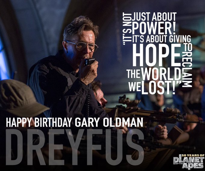 To the leader and protector. Happy birthday, Gary Oldman!