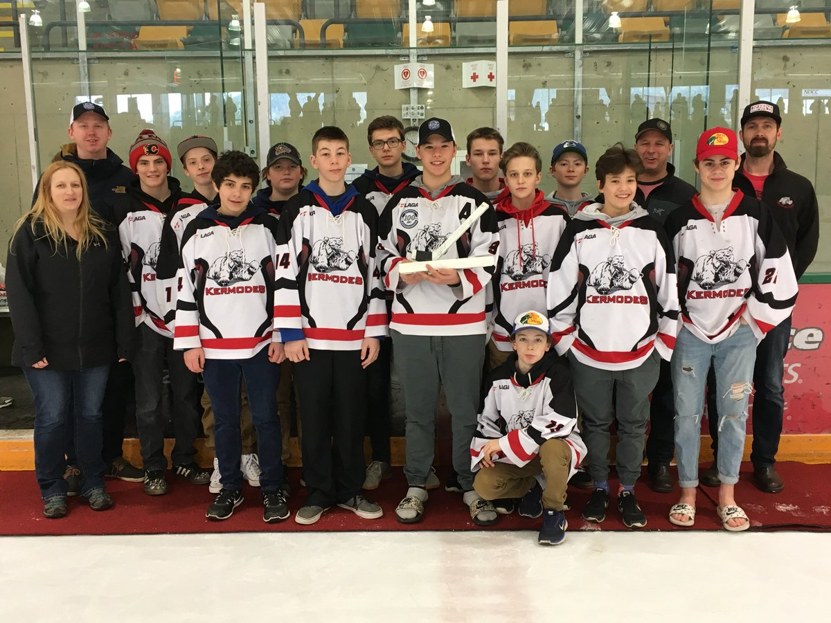 test Twitter Media - Some BC Hockey Championships will crown a winner today. Click here for scores/schedules: https://t.co/kR6Ky8SXah  Congrats to the Terrace Kermodes who were awarded the Bantam Tier 3 Fair Play award. https://t.co/koAFrgWGS4