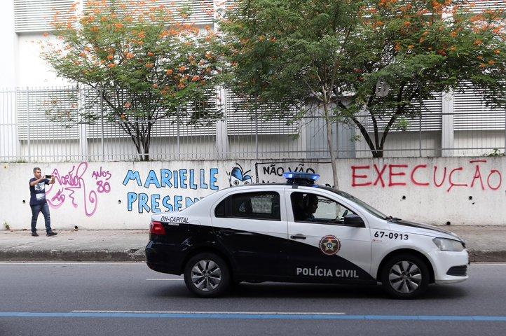 @BroadcastImagem: No Rio, polícia refaz o trajeto em que Marielle Franco foi perseguida até ser assassinada. Wilton Júnior/Estadão
