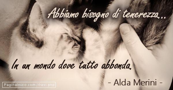#AldaMerini