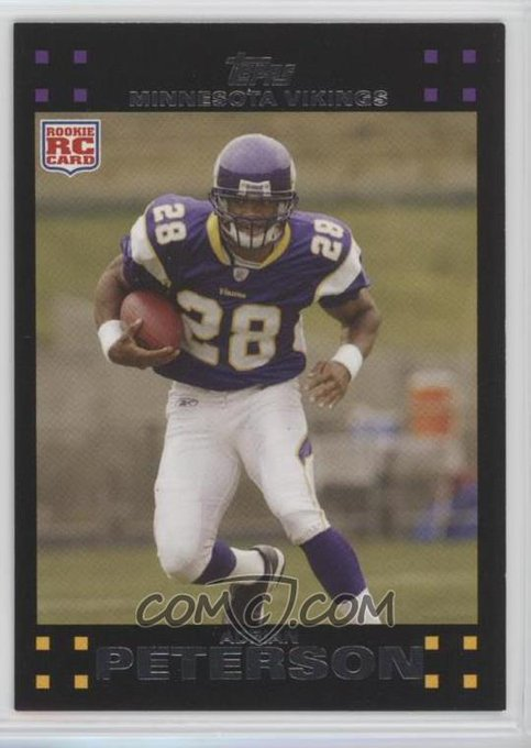 Happy Birthday to running back Peterson!