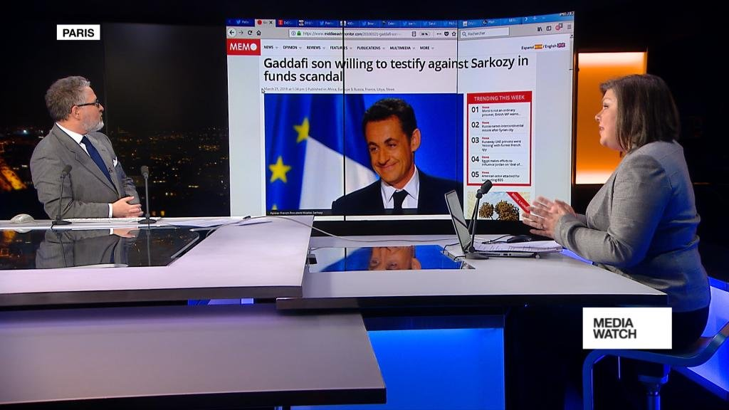 MEDIAWATCH - Sarkozy charged with corruption