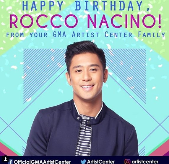 Happy Birthday, Rocco Nacino! I hope your day is as special as you are!