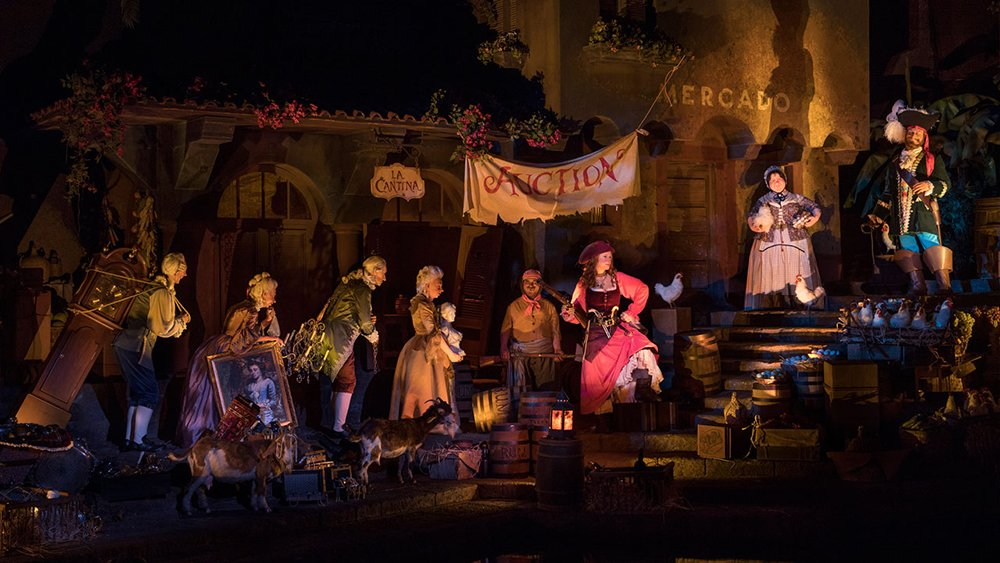 Disney World updates controversial 'Pirates of the Caribbean' ride bride auction scene