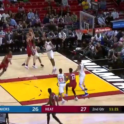 Kelly Olynyk recorded 22 PTS, 5 REB, and a career-high 10 AST in the @MiamiHEAT victory at home! #HEATCulture https://t.co/tnW72FkFcW