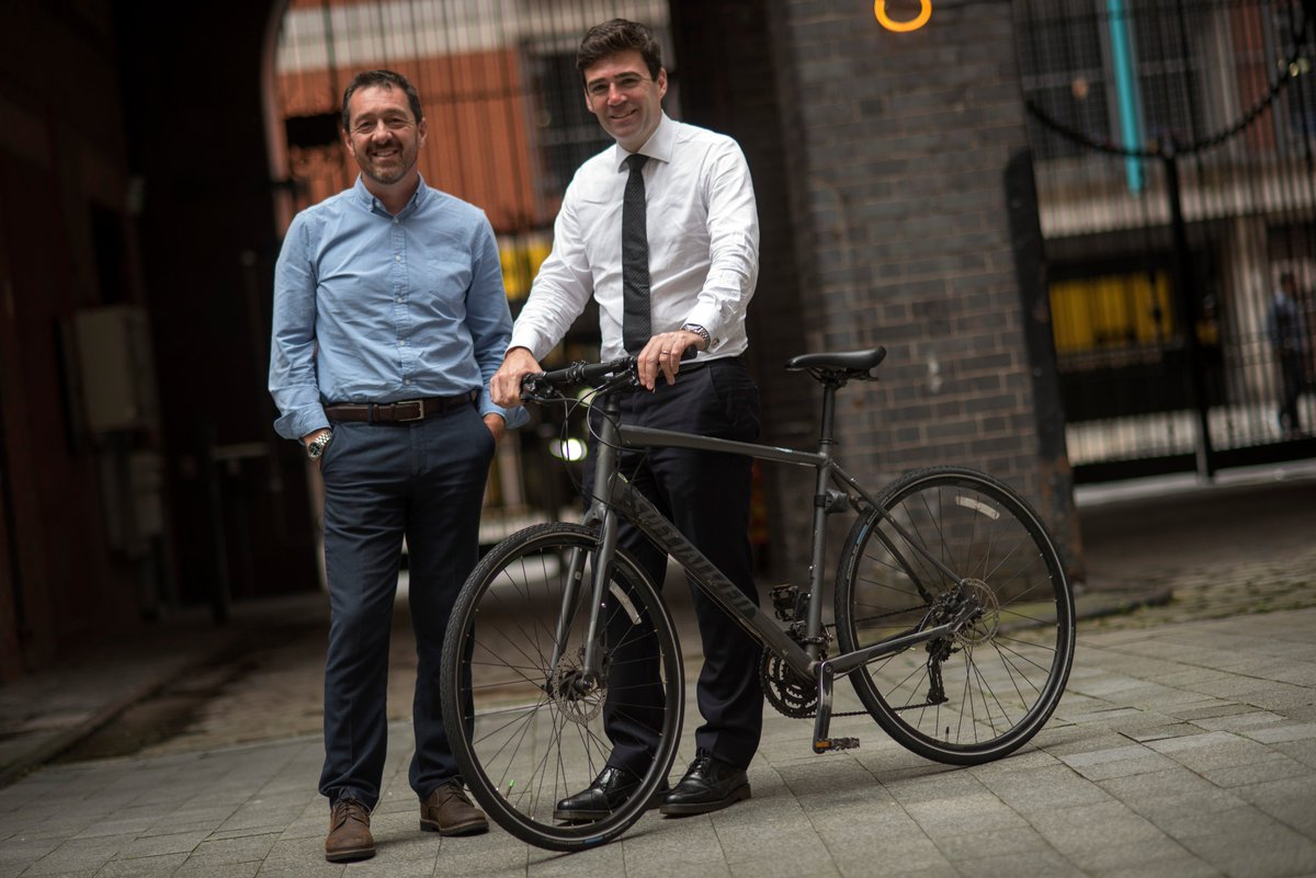 test Twitter Media - 🚲🚶♀️Greater Manchester first UK city-region outside London to sign up to @NACTO global street design standards for #walking and #cycling.  🙌@Chris_Boardman    👀👉https://t.co/2PUcV4K08A https://t.co/KOJ3v2dQ1X