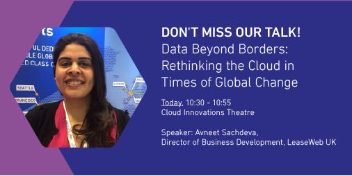 "test Twitter Media - On March 22nd don't miss Avneet Sachdeva and her keynote on ""Data Beyond Borders: Rethinking the Cloud in Times of Global Change"" https://t.co/S8jPiyODAJ @CloudExpoEurope #CEE18 https://t.co/KUU58LiWqa"