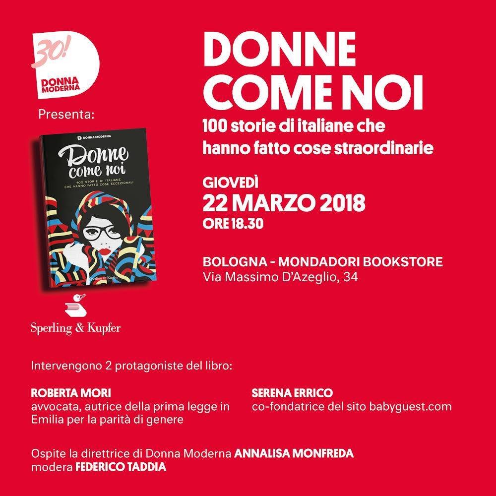 #donnecomenoi