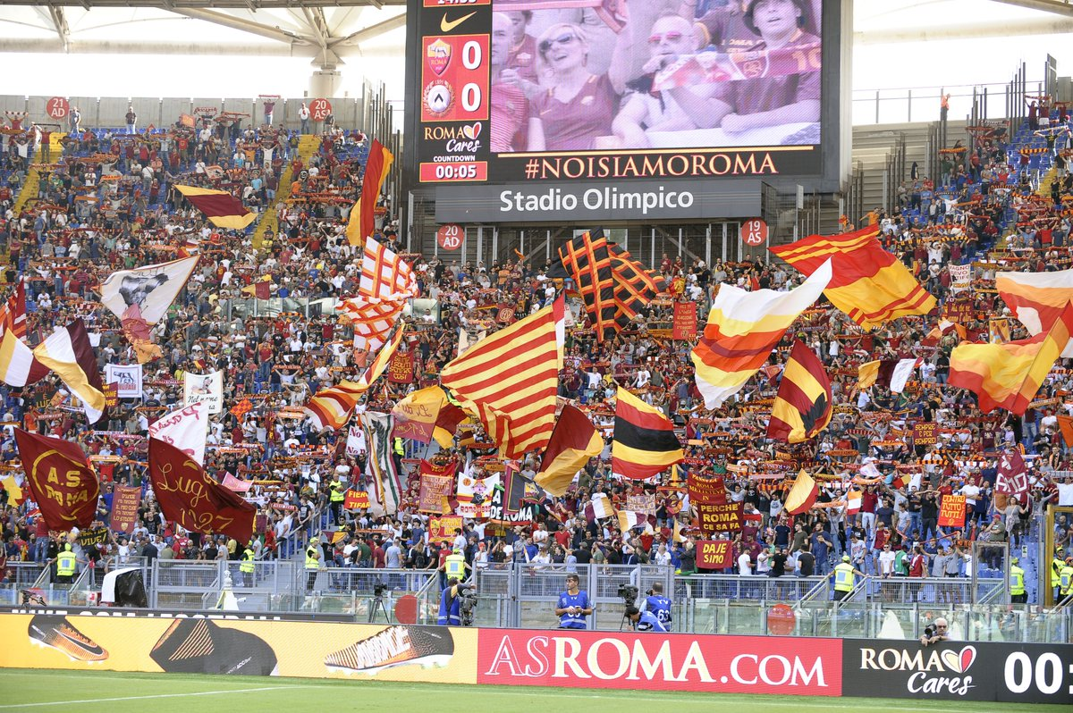 #RomaBarcellona