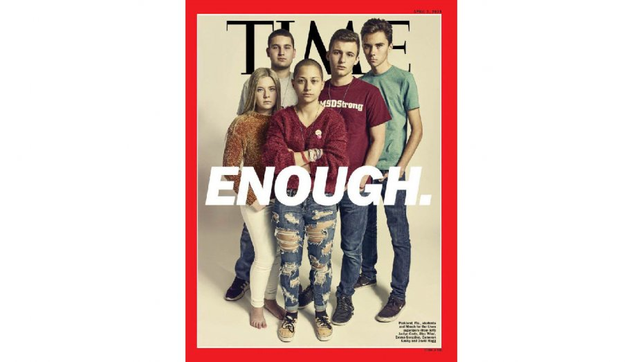 Parkland teens cover @TIME ahead of