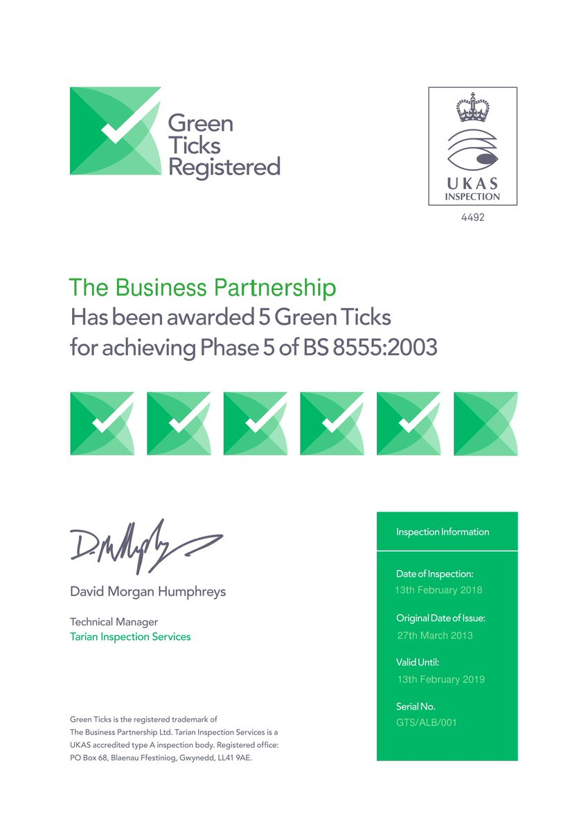 Image for Looking for an EMS but don't want to splash on on the ISO 14001? We can help by offering BS 8555 to businesses in Scotland! #greenticks #ems #efficiency #environmental #management #system https://t.co/8ihOQRuXP3
