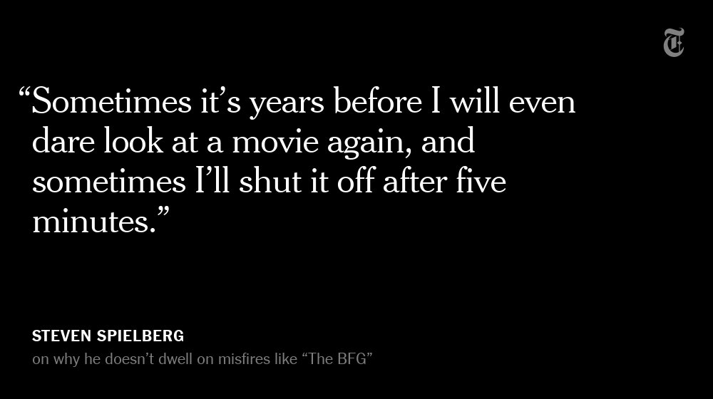 Steven Spielberg says he doesn't like to dwell on the past https://t.co/vuVjQgfB6Z https://t.co/ietPJTXHSv