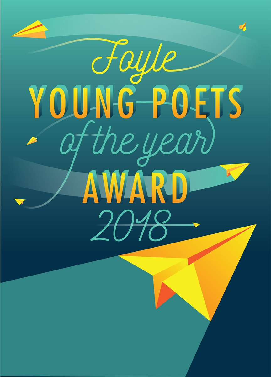 test Twitter Media - The Foyle Young Poets of the Year Award 2018 is open! Judged in its 20th anniversary year by @CarolineBirdUK & Daljit Nagra, #FoyleYoungPoets is one of the biggest awards for poets aged 11-17. Alumni include @HelenMort @Brrnrrd & @CarolineBirdUK herself 🌟 https://t.co/BYvO8ywy1t https://t.co/99YdE7vbT5