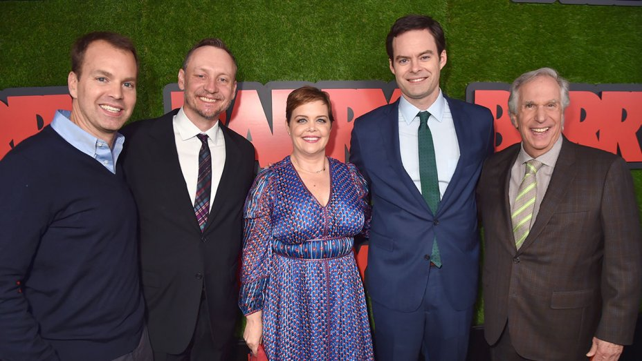 """Bill Hader on why he was """"very nervous"""" to play a hitman in"""