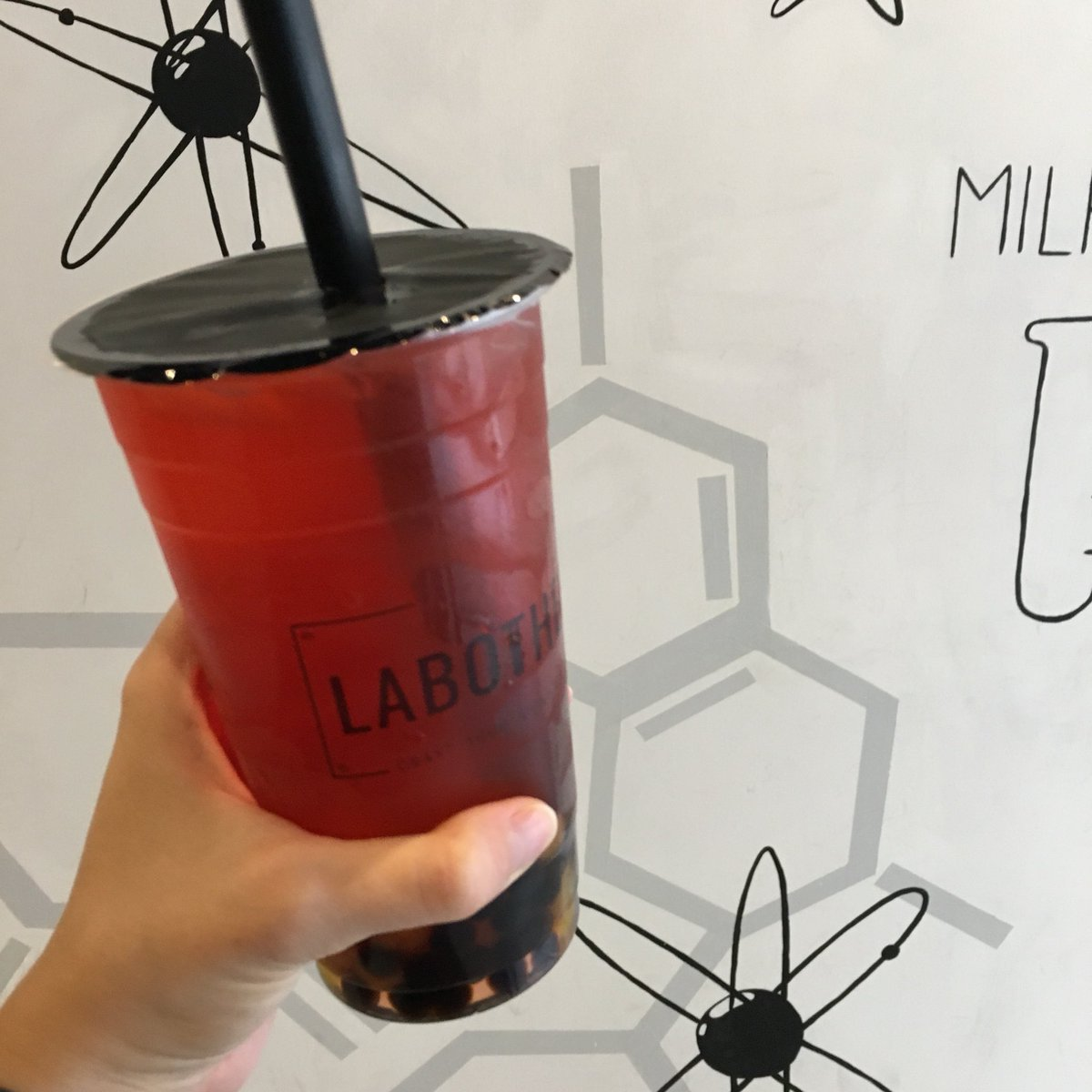 test Twitter Media - I went and checked out #Labothery in #Toronto today. You pick all your ingredients to make your own bubble tea and they mix it up for you! Love the concept. https://t.co/u1qW0t4M8Y