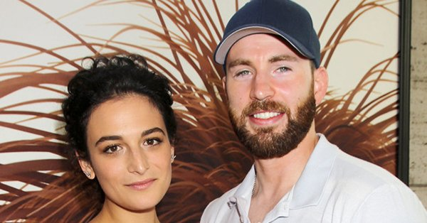 Chris Evans and Jenny Slate are off-again: