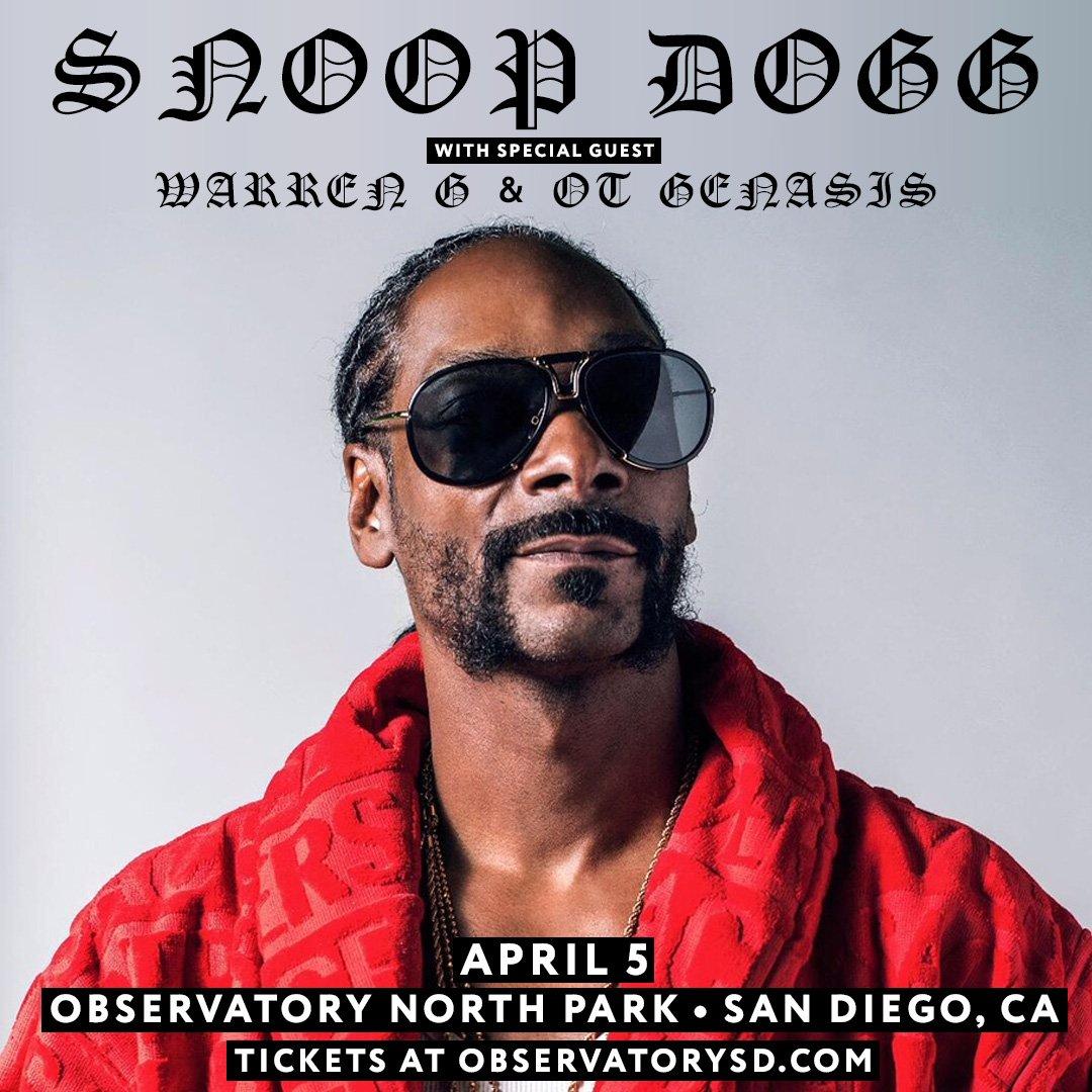 San Diego come thru April 5 wit @regulator n @otgenasis ! get tix at https://t.co/VbsqB6rwG3 ???????? https://t.co/Qr2IFevAYC