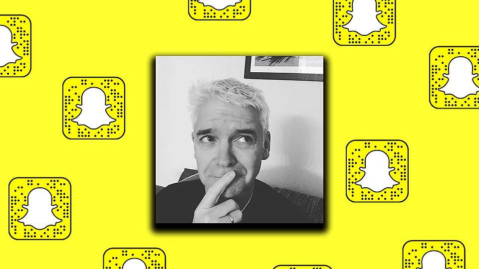 Phillip Schofield reveals his top tips for becoming a Snapchat sensation