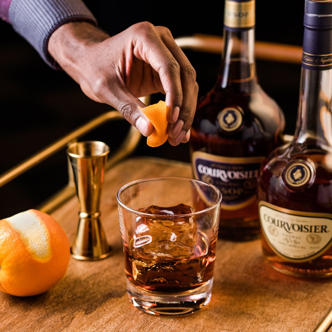 Courvoisier: Twitter | The Cocktail Project