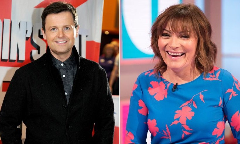 Lorraine Kelly said Declan Donnelly could become just like this TV star - do you agree?