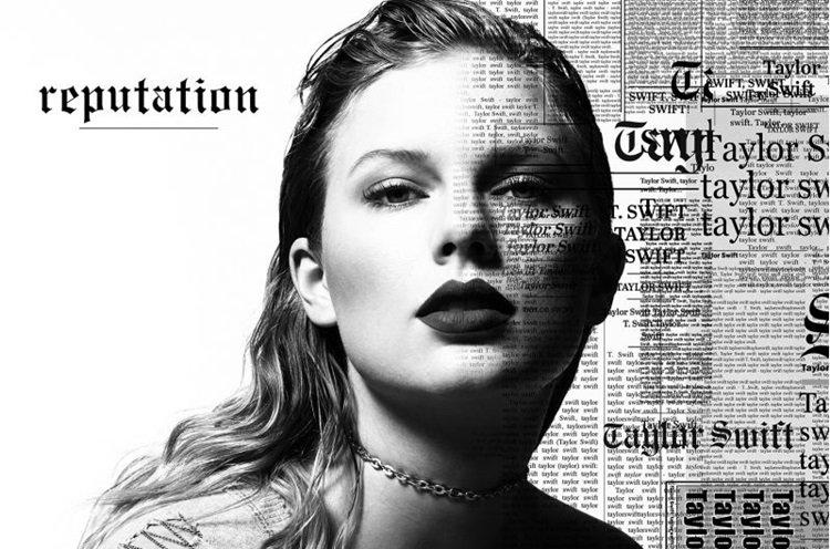 'Reputation', último álbum de Taylor Swift, segue quebrando recordes