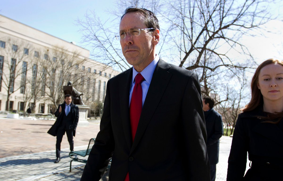 """The Justice Department argues that AT&T will use Time Warner as a """"weapon"""" to harm rivals"""