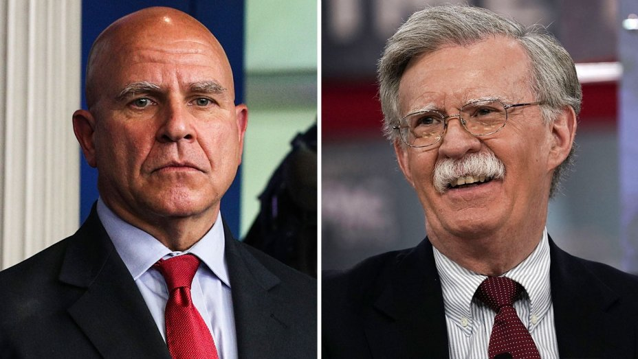 H.R. McMaster replaced by Fox News analyst John Bolton as national security adviser