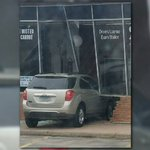 Teen crashes through building during driver's test