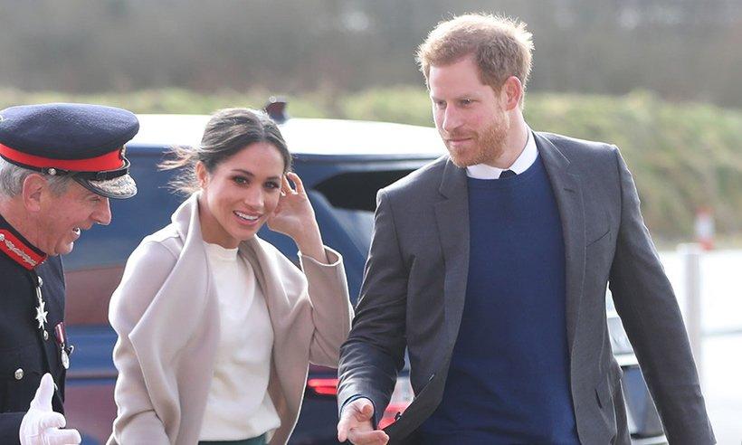 MeghanMarkle stuns in Hobbs coat on surprise visit to Northern Ireland