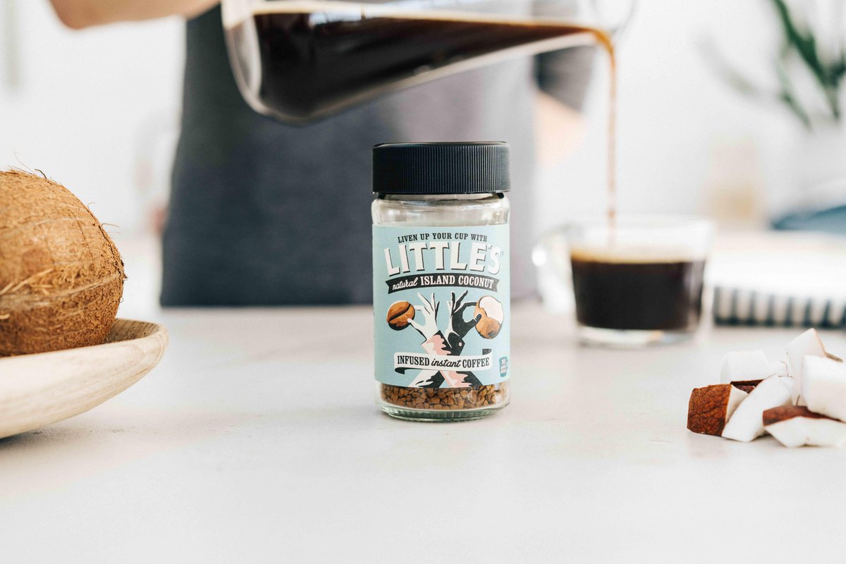 ☕ Trying to fight off those sweet cravings in the morning? Say hello to @WeAreLittles infused coconut #coffee 😍. https://t.co/3tmrLWCg4i