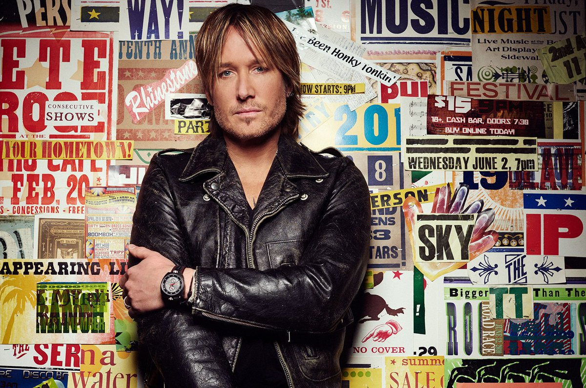 @KeithUrban releases his new s keith urban
