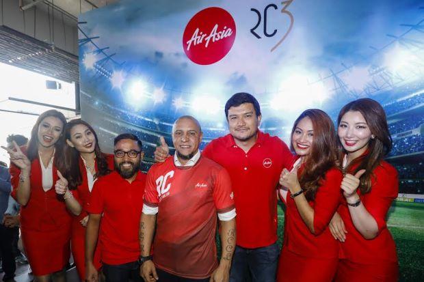 Brazilian footballer Roberto Carlos named AirAsia's global brand ambassador - Nation