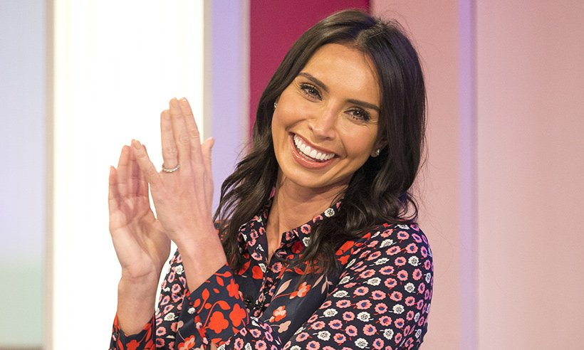 Christine Lampard wows Loose Women viewers in yellow and black bargain skirt from Zara?