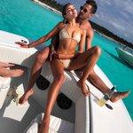 Danny Amendola and Olivia Culpo are back in the Bahamas
