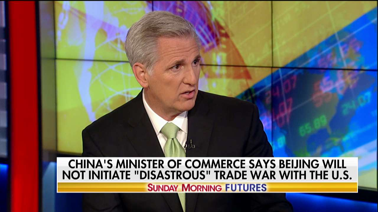 .@GOPLeader: 'We're beginning the America Comeback.' #SundayFutures @MariaBartiromo https://t.co/bjJUvEQ3s0